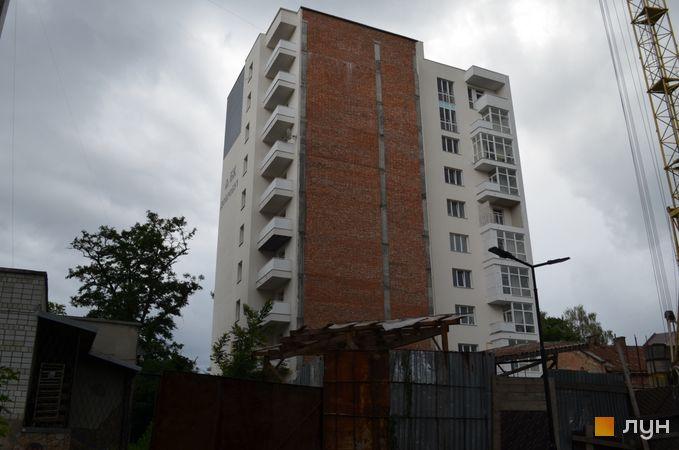 Хід будівництва вул. Замарстинівська, 162-164, 1 секція, червень 2018
