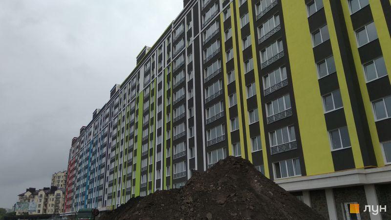 Ход строительства ЖК Фортуна-2, ул. Г. Сковороды, 21, 23, 25, июль 2018