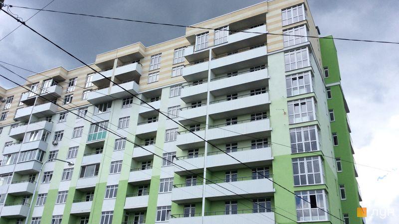 Ход строительства ЖК Киевские Зори, 2 дом (секция 3), июль 2018