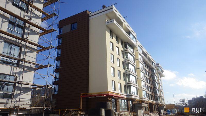 Ход строительства ЖК PARKLAND, 1 дом, февраль 2016