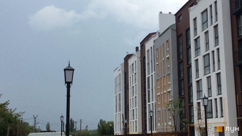Ход строительства ЖК Белый Шоколад.Center, 8 очередь (ул. Величко, 16б), июль 2018