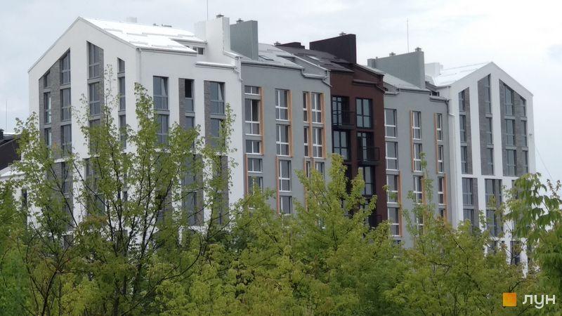 Ход строительства ЖК Белый Шоколад.Center, 9 очередь (ул. Величко, 18а, 18б), июль 2018