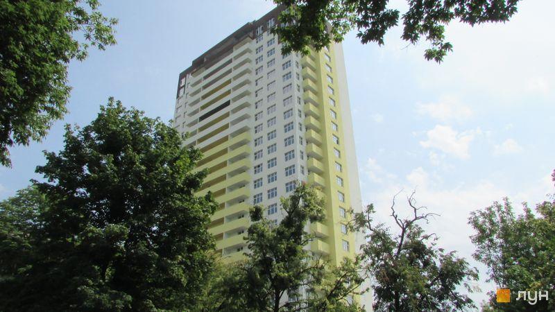 Хід будівництва ЖК Голосіївський дворик, Будинок, липень 2018