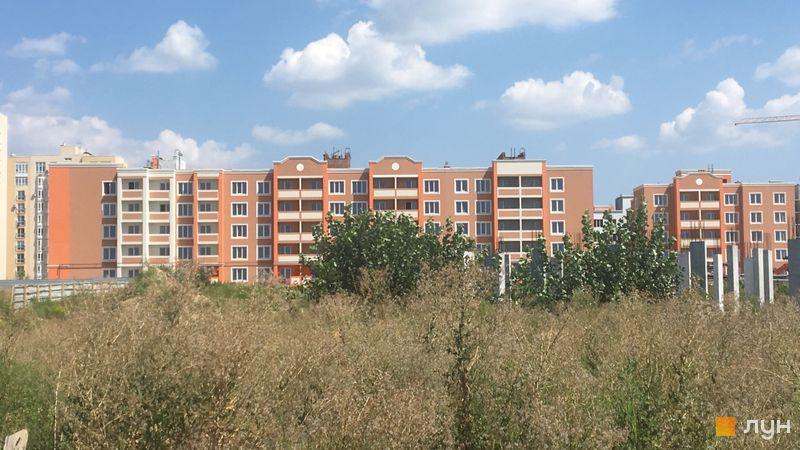 Ход строительства ЖК Петровский квартал, ПК-5. 1 очередь (ул. Леси Украинки, 18-20г), август 2018