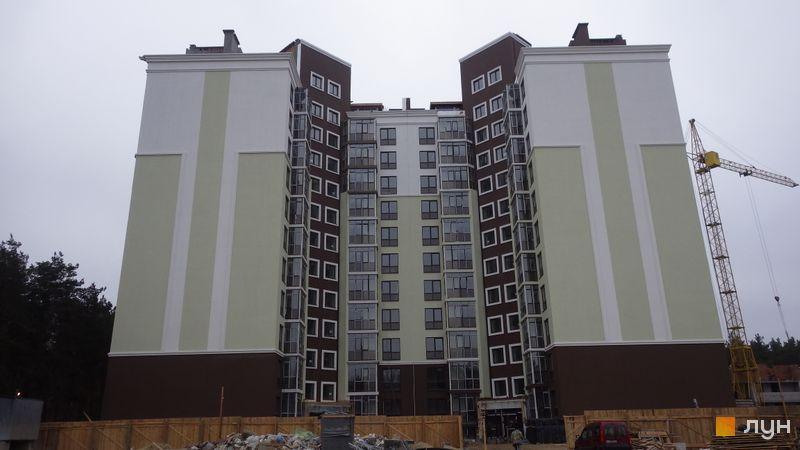 Хід будівництва ЖК Лісова казка, 1-2 черги (будинки 1-2), лютий 2016