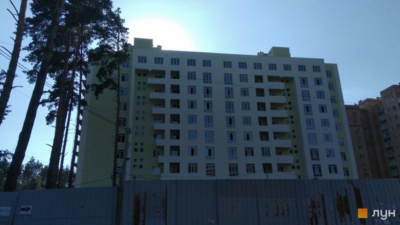 Ход строительства ЖК Жасмин, 1, 2 дома, август 2018