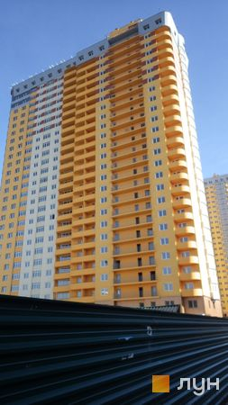 Хід будівництва ЖК на Кондратюка, Будинок 3, лютий 2016