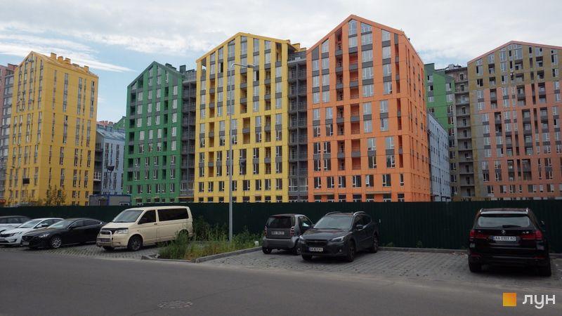 Хід будівництва ЖК Комфорт Таун, 6 черга (будинок 2), серпень 2018