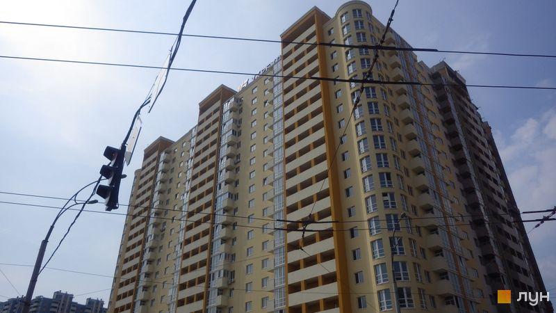 Ход строительства ЖК Новомостицкий, 1-3 секции, август 2018