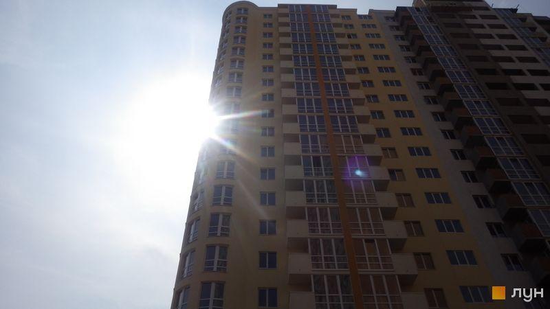 Ход строительства ЖК Новомостицкий, 3 секция, август 2018