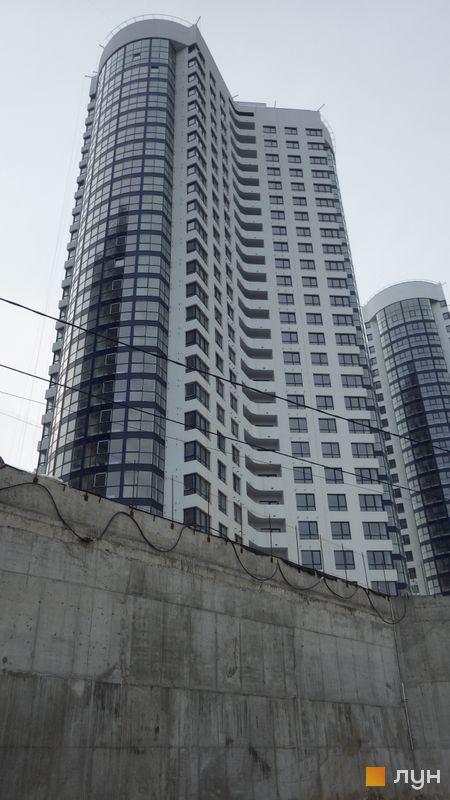 Ход строительства ЖК Заречный, 2 дом, февраль 2016