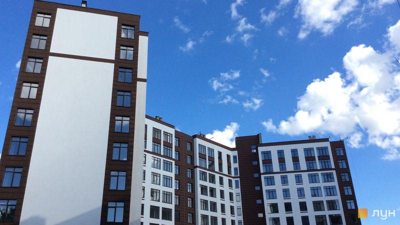 Ход строительства ЖК Пражский квартал 2, 1 дом, август 2018