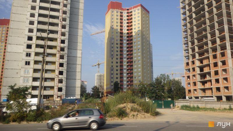 Ход строительства ЖК Эврика, 14 дом, август 2018