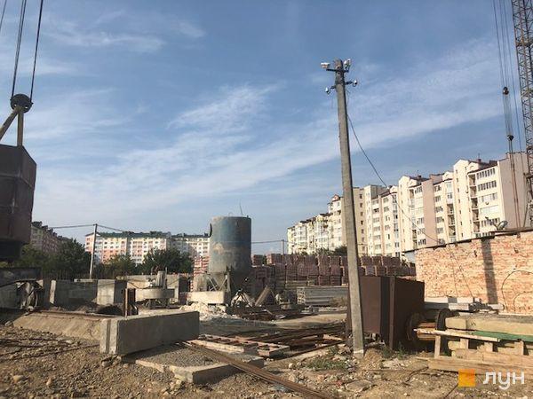 Ход строительства ЖК Квартал Галицкий, , сентябрь 2018