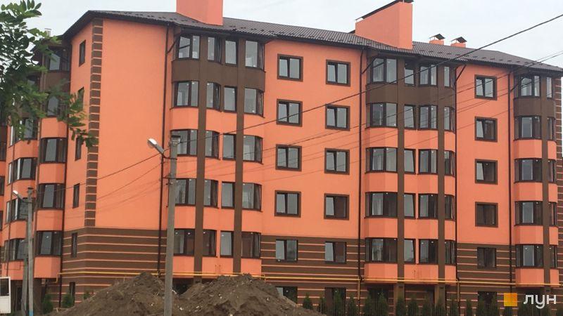 Хід будівництва Волошковий, Будинок 9, вересень 2018