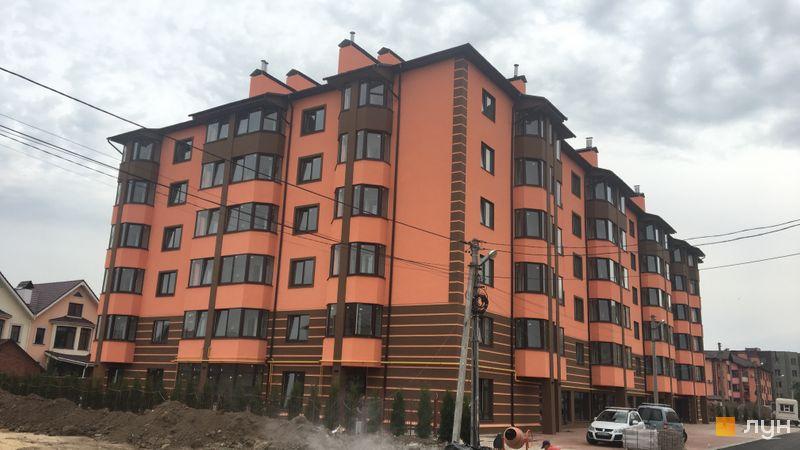 Хід будівництва Волошковий, 9 будинок, вересень 2018