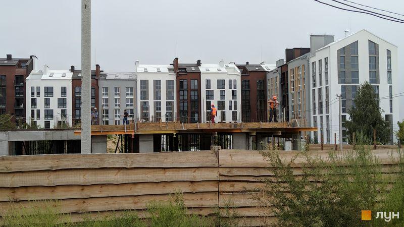 Ход строительства ЖК Белый Шоколад.Center, 8 очередь (ул. Величко, 16а, 16б), сентябрь 2018