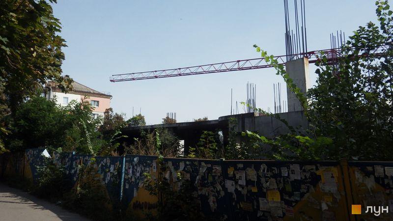 Ход строительства ЖК UNO City House, , сентябрь 2018
