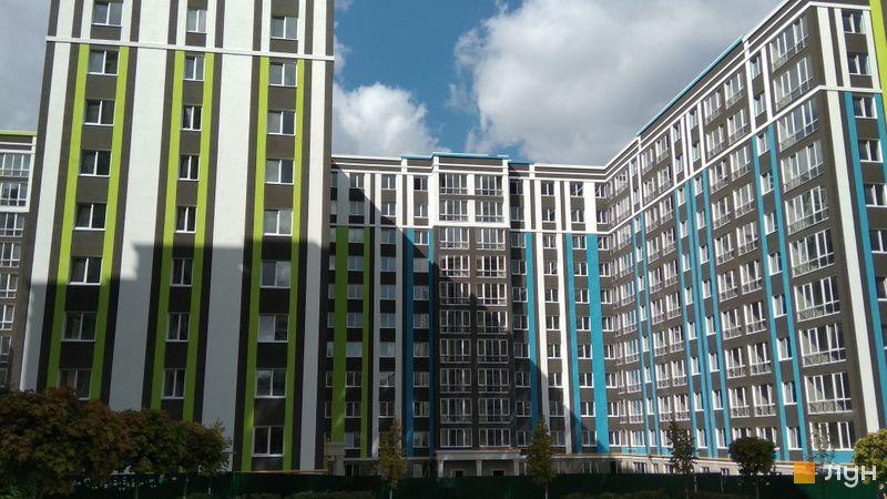 Ход строительства ЖК Фортуна-2, ул. Г. Сковороды, 21, 23, 25, сентябрь 2018