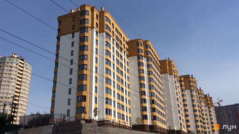 Ход строительства ЖК Счастливый на Петропавловке, 8 дом (ул. Бархатная, 20 в,г), сентябрь 2018