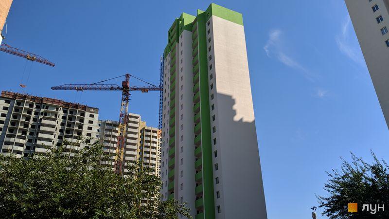 Хід будівництва ЖК Олімпійський, 8 будинок, вересень 2018