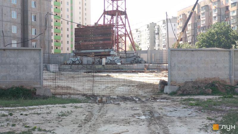 Хід будівництва ЖК Олімпійський, 11 будинок, вересень 2018
