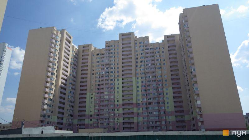 Хід будівництва ЖК Милославичі, 2 черга (будинок 10), липень 2014