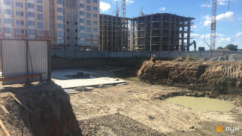 Ход строительства ЖК Новые Теремки, 4 очередь (дом 12-13), сентябрь 2018