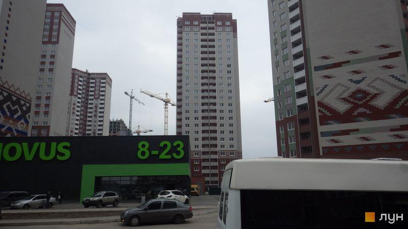 Хід будівництва ЖМ Патріотика, ЖБ Сорочинський (№4), березень 2016