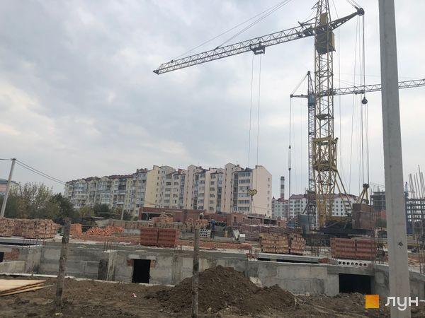 Ход строительства ЖК Квартал Галицкий, , октябрь 2018