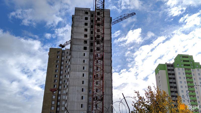 Хід будівництва ЖК Олімпійський, 10 будинок, жовтень 2018