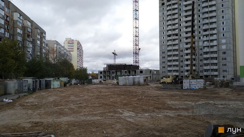 Хід будівництва ЖК Олімпійський, 11 будинок, жовтень 2018