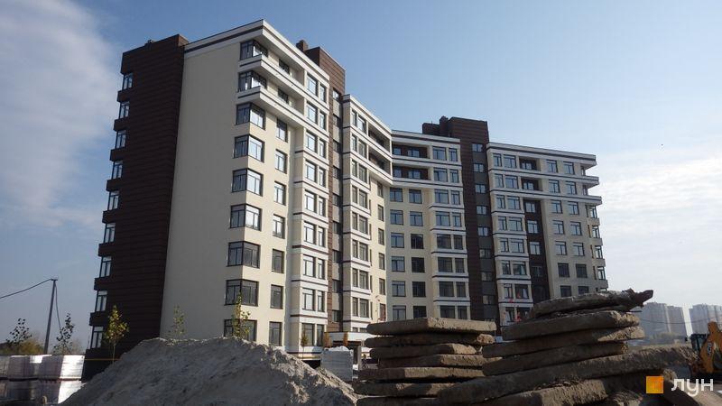 Ход строительства ЖК PARKLAND, 17 дом, октябрь 2018