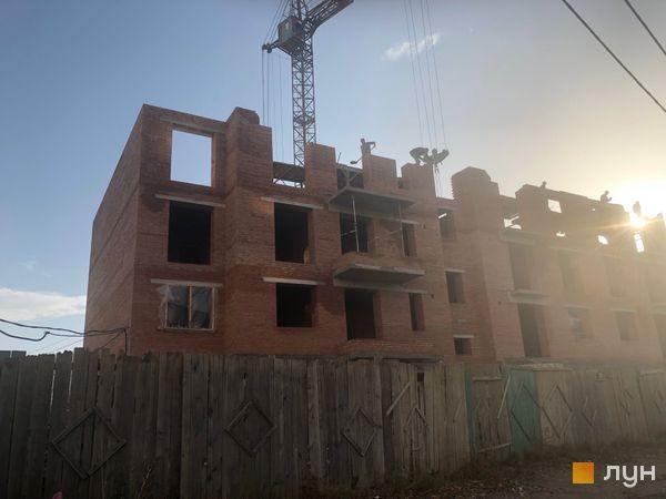 Ход строительства ЖК Квартал Галицкий, , ноябрь 2018