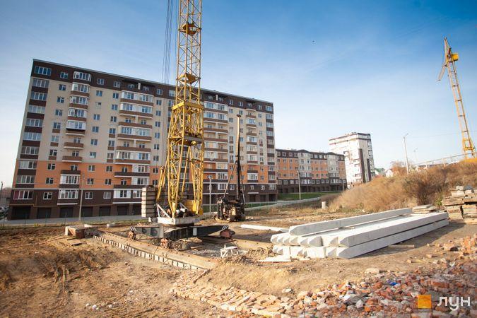 Хід будівництва ЖК Срібні Озера Комфорт, , листопад 2018