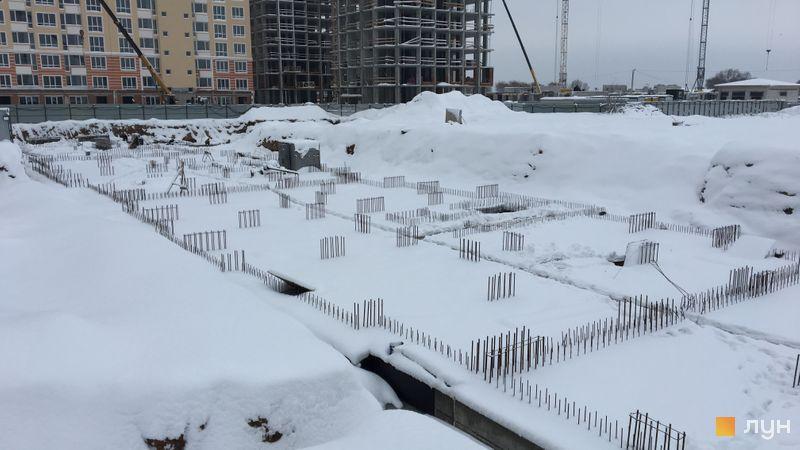 Ход строительства ЖК Новые Теремки, 4 очередь (дома 13-15), декабрь 2018