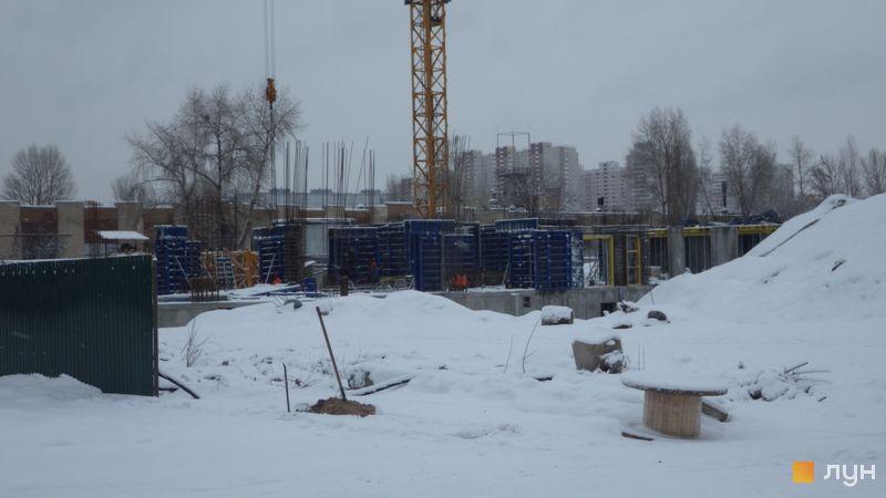 Ход строительства ЖК Причал 8, , декабрь 2018