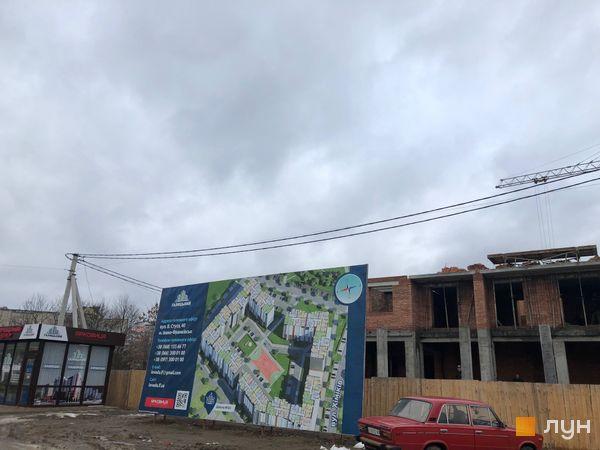 Ход строительства ЖК Квартал Галицкий, , декабрь 2018