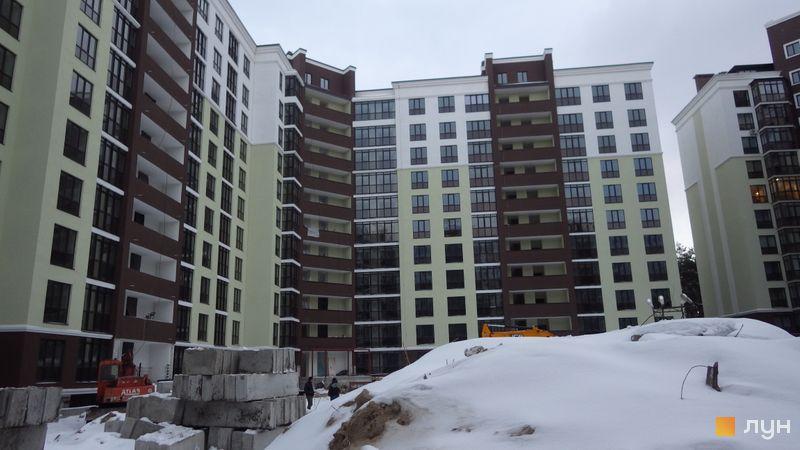 Хід будівництва ЖК Лісова казка, 6 черга (будинки 13-15), січень 2019