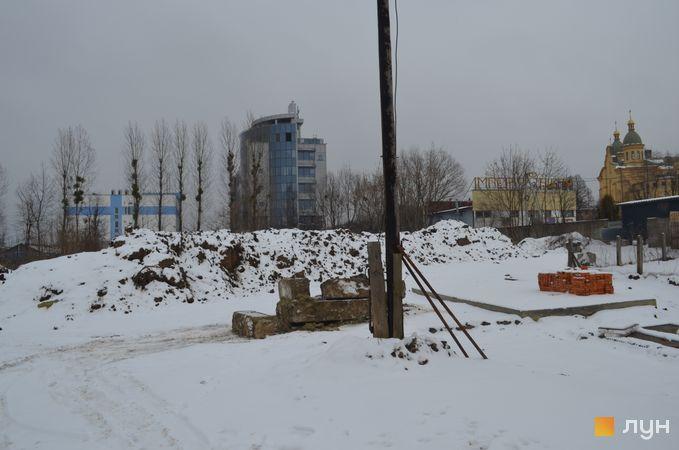Ход строительства ЖК Resident Hall, , январь 2019