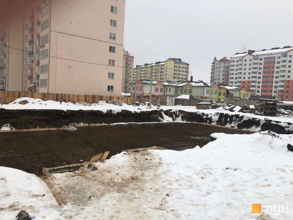 Ход строительства ЖК Квартал Галицкий, , февраль 2019