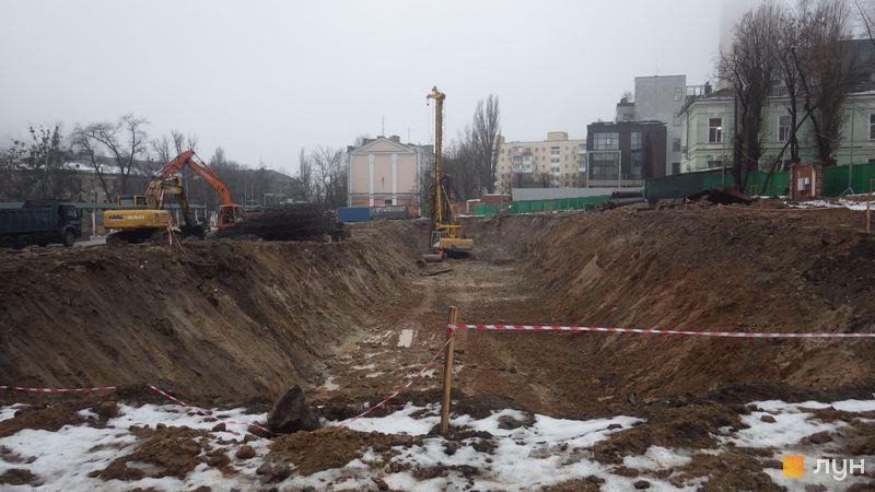 Хід будівництва ЖК Diadans, , січень 2019
