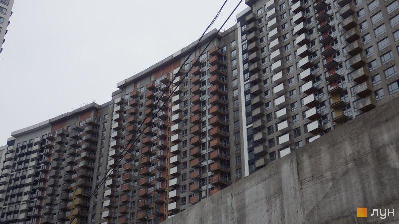 Хід будівництва ЖК Зарічний, 6 будинок (секція 3), лютий 2019