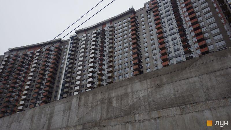 Ход строительства ЖК Заречный, 6 дом (секция 4), февраль 2019