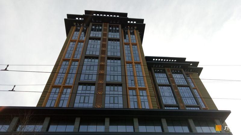 Ход строительства Башня CHKALOV, Дом 1, февраль 2019