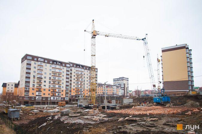 Хід будівництва ЖК Срібні Озера Комфорт, , лютий 2019