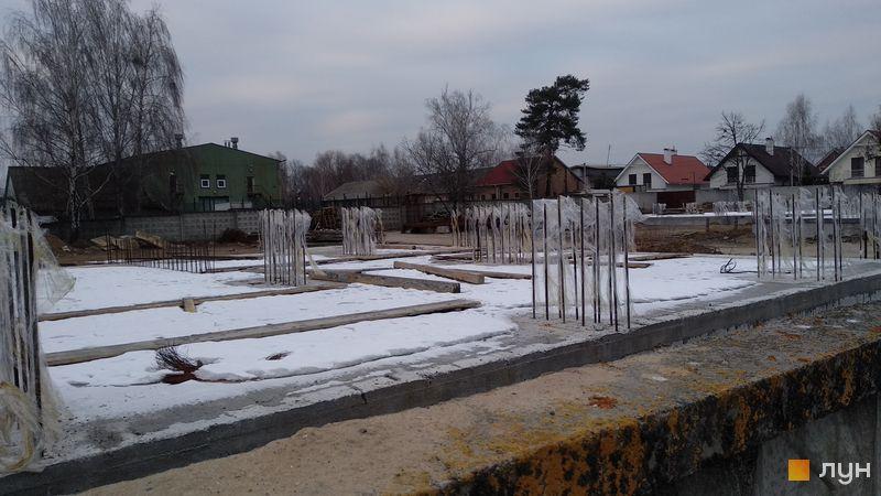 Ход строительства ул. Коцюбинского, 9а, Дом 1, февраль 2019