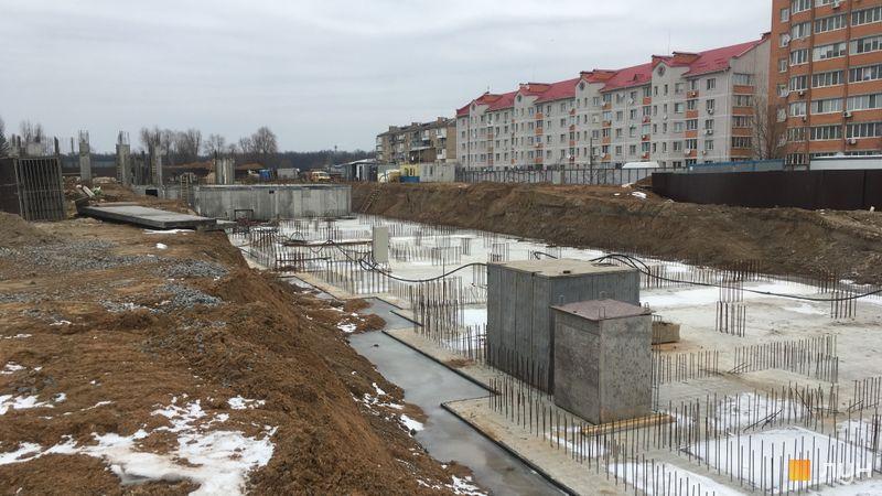 Ход строительства ЖК Новые Теремки, 4 очередь (дом 16), февраль 2019