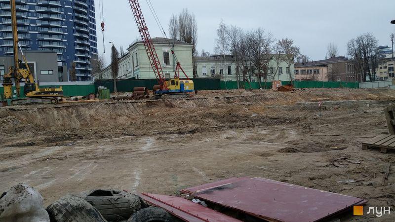 Хід будівництва ЖК Diadans, , лютий 2019