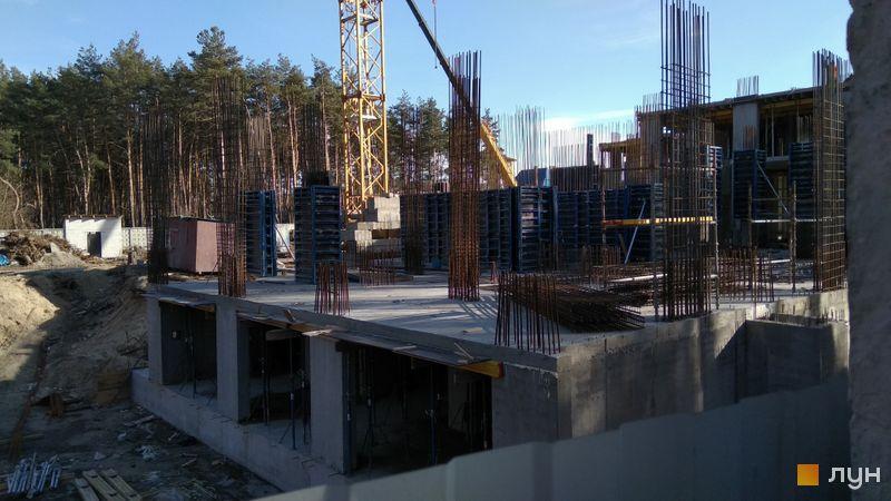 Хід будівництва ЖК На Прорізній 2, 1 будинок (секція 2), лютий 2019